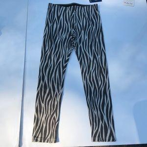 IKKS Girl Leggings Zebra Print